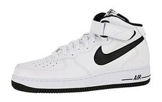 Nike Air Force 1 Mid White Black