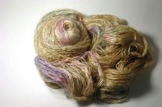 Silk Halo in Pale Golden Rainbow  One of a Kind by Lichtfaden, €27.00