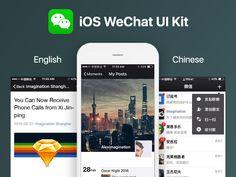 iOS WeChat UI Kit
