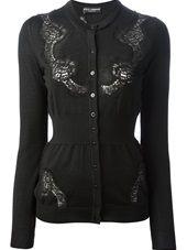 Dolce & Gabbana - lace panel cardigan