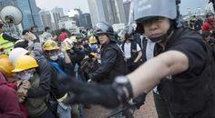 Protestas en Hong Kong se intensifican