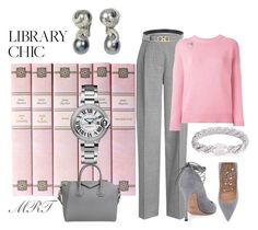 """""""Into the Pink"""" by meesh57 ❤ liked on Polyvore featuring Victoria Beckham, Valentino, Salvatore Ferragamo, Yves Saint Laurent, John Hardy, Tiffany & Co. and Givenchy"""