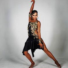 Dancer Tattoo, Baile Latino, Latin Dance Dresses, Ballroom Dress, Costume Accessories, Dance Costumes, Latina, How To Wear, Dancing