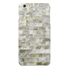 Add  name initials trendy seashell bling design matte iPhone 6 plus case Check out our chic Silver iPhone 6/6s Plus Cases collection to see  more luxury iPhone 6 Plus Case, iPhone 6s Plus Case products with the design from silver, silver glitter, silver Sparkling for her, for lady, for woman, for him, for men, for women, for family, for silver lovers. Select an device type option: Apple iPhone 7, Apple iPhone 7 Plus, iPhone 6/6s, iPhone 6/6s Plus, iPhone SE   iPhone 5/5S, iPhone 5C, iPhone…