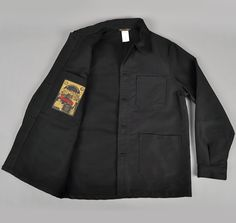 Ode to Bill Cunningham (via Remodelista) The Bleu de Travail French Work Jacket in black