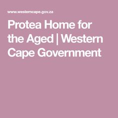 Protea Home for the Aged Retirement, Westerns, Cape, Mantle, Cabo, Retirement Age, Coats