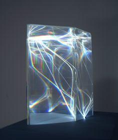 Carlo Bernardini - Light Catalyst, 2002 - Model, plexiglass and optical fibers mm of diameter) - Feet h Light Art, Instalation Art, Deco Luminaire, Co Working, Art Design, Light And Shadow, Glass Art, Contemporary Art, Art Photography