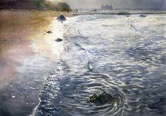 Gorska Rudera (Grzegorz Wróbel) GreeGW – END OF SUMMER – watercolor