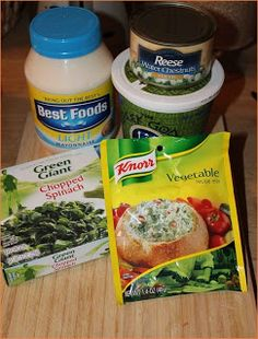 How To Make Spinach Dip | Mixiomedia