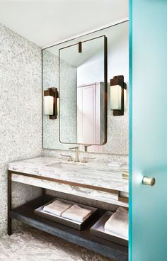 30+ Beautiful Bathroom Mirrors Will Inspire You  Tags: bathroom mirror border ideas, bathroom mirror ideas with tile, cottage bathroom mirror ideas, creative bathroom mirror ideas, decorating a bathroom mirror ideas, framing a bathroom mirror ideas