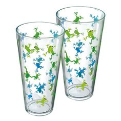 Grasslands Road Out On A Whim Frog Iced Tea Tumblers-Got these at Von Maur for the Easter Baskets