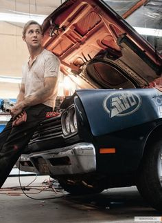 I think this is how all guys think they look when working on cars