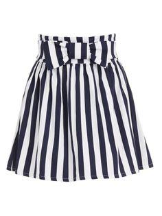 Wonderland skirt Blue/White (R590)