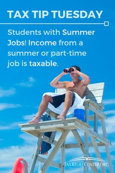 Income from a summer or part-time job is taxable. New student-employees need to fill out a Form Employee's Withholding Allowance Certificate. Employers use this form to calculate how much federal income tax to withhold from the new employee's pay. Offer In Compromise, Types Of Taxes, Tax Help, Preparing For Retirement, Federal Income Tax, Summer Jobs, New Employee, Part Time Jobs