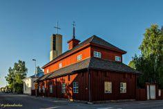 Historisches Pedagogium (Schulhaus) in Kokkola   Finland