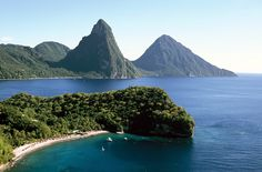 Yes, I'd love to take a vacation here...St. Lucia...