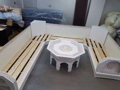 salon marocainm - Home Page Moroccan Decor Living Room, Moroccan Room, Moroccan Interiors, Space Saving Furniture, Sofa Furniture, Outdoor Furniture Sets, Internal Design, Bedroom Bed Design, Wooden Sofa