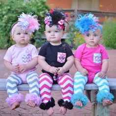 Baby Girl's Monogrammed Initial Chevron Pocket Tee Onesies but we can leave the massive bows off!
