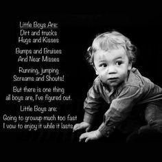 Little Boys are....