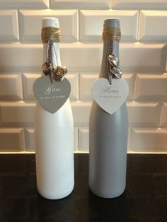 Printed wine bottles