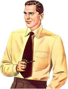 Taffaloom Collar Attached Shirt