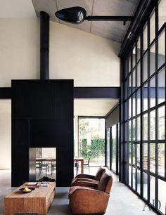 Minimalist Home/Studio by Tom Kundig // Architectural Digest