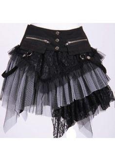 Dark Desires B/W Skirt