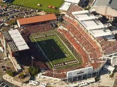 Reser Stadium home of the Oregon State Beavers located in Corvallis, OR