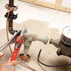 Pic On Home Repair How to Replace the Main Shut Off Valve