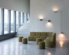 Un nouveau langage luminaire: La collection Structural par Arik Levy - Vibia Lamp Design, Lighting Design, Led Lighting Solutions, Lighting System, Luminaire Mural, Wall Lights, Ceiling Lights, Ceiling Lamp, Wall Mounted Light