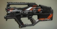 Next Apex Legends gun looks like Titanfall L-Star, revealed through an early weapon skin Sci Fi Weapons, Armor Concept, Weapon Concept Art, Weapons Guns, Titanfall Cosplay, Ghost Assassin, Future Weapons, Assault Rifle, Team Building