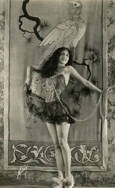"Olive Borden (1906 – 1947) was an American film and stage actress who began her career during the silent film era. Nicknamed ""The Joy Girl"", Borden was known for her jet-black hair and overall beauty. At the peak of her career, she earned $1,500 a week. By the late 1930s, she had declared bankrupt. Her attempts to get back into acting were hindered by her alcoholism. In 1945, she began working at , a home for destitute women in the skidrow section of LA. She died there in October 1947."