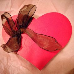 L.A. Burdick heart shaped box assorted chocolates
