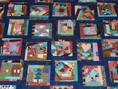 My Crumb flimsy is almost finished, it's in 4 pieces, but I thought I would post pictures since holidays are here and it is getting pushed a. Scrappy Quilt Patterns, Scrappy Quilts, Easy Quilts, Quilt Blocks, Crumb Quilt, Scrap Busters, Meditation Cushion, Quilt Making, Quilting Designs