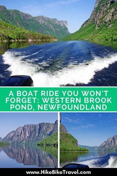 The boat ride on Western Brook Pond in Gros Morne National Park, Newfoundland is one you won't forget. You'll see waterfalls & cliffs over 700 m high. Ottawa, Newfoundland Canada, Newfoundland And Labrador, Alberta Canada, Quebec, Ontario, East Coast Canada, Gros Morne, Canada Vancouver