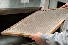 Experts rely on a specific methodology for air duct cleaning. It helps to improve indoor air quality and reduces the amount of dust inside the house. Hvac Filters, Furnace Filters, Clean Air Ducts, Duct Cleaning, Air Conditioning System, Air Filter, Indoor Air Quality, At Least, The Unit