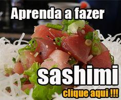 Curso para aprender a fazer sashimi