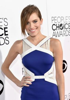 Allison Williams Wearing David Koma at 2014 People's Choice Awards in Los Angeles