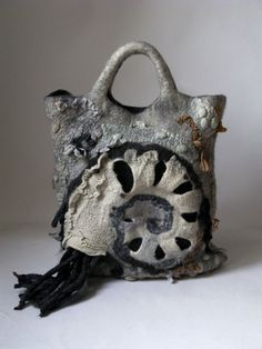 Wonderful felted bag