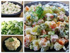 Szilveszterkor a hidegtálak mindig jól jönnek, gyorsan elkészülnek és rendkívül finomak!A saláták már akár előző nap is elkészíthetők, sőt, jót is...