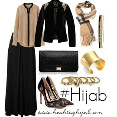 Love the outfit exept the hijab, i would prefer a plain one