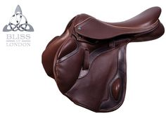 Paramour Eventer in Claret #Saddle #Eventer #Claret www.bliss-of-london.com