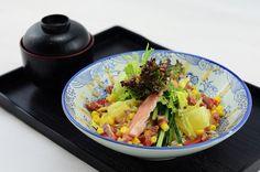 蟹柳沙拉套餐 by EndlessJune, via Flickr