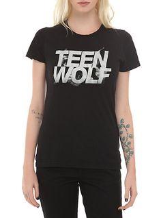 Teen Wolf Logo Girls T-Shirt | Hot Topic