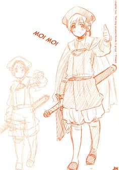 Axis Powers: Hetalia, Finland, Nordic Countries, Official Art, Himaruya Hidekaz