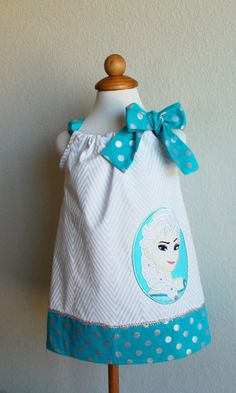 Frozen Elsa dress/Frozen dress birthday by CreativeBagsForKids, $33.00