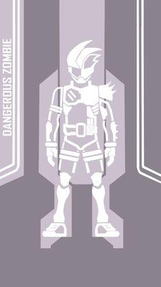 Genm Zombie Gamer LvX Original Ver Fanmade by on DeviantArt Kamen Rider Ex Aid, Geek Stuff, Deviantart, Superhero, Drawings, Anime, Wallpapers, King, Japan
