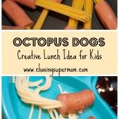 Octopus Dogs: Creative Lunch Idea for Kids