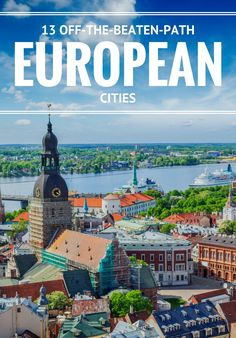 Introducing Riga, Lviv, Coimbra, and more.