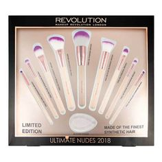 Makeup Revolution Ultimate Nudes Brush Collection 2018